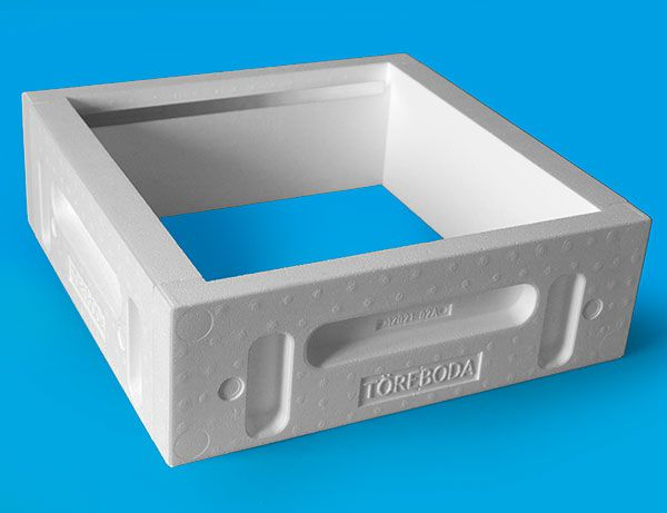 The Töreboda-hive, Box, HLS, outer measures 462x462 mm