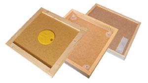 Bitömmarbotten med infälld bitömmare 152, 10 ramars Langstroth