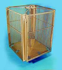 Stainless inside basket, 3 frames