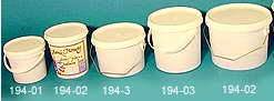 Plasthink 2.7 lit Per st