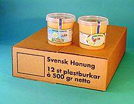 Carton for 500 gr PLASTIC JAR