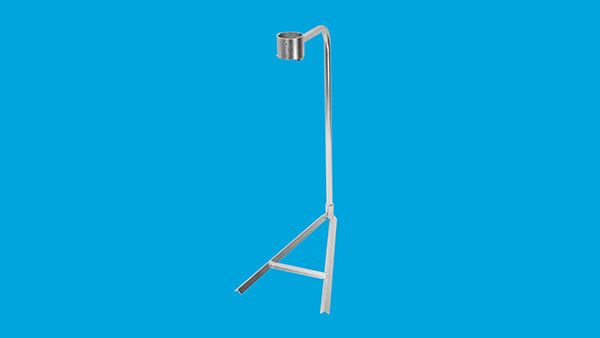 Stand for pedestal heater