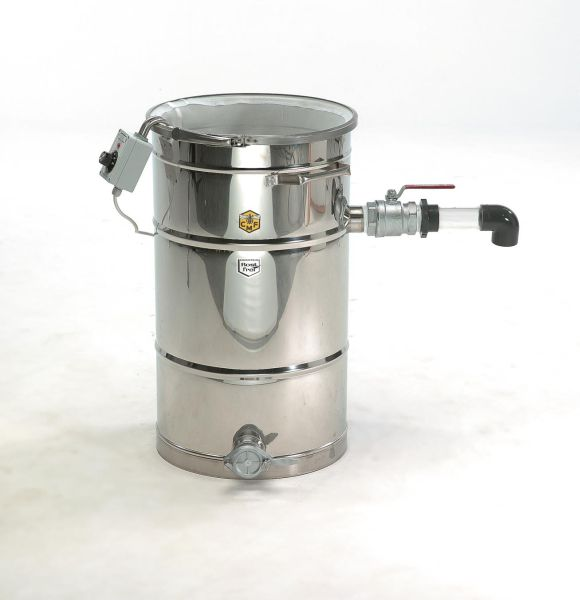CFM stainless floating strainer 125kg with heating coil
