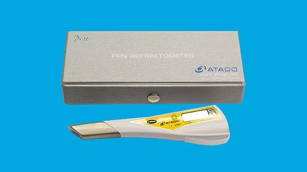 Digital refraktometer, penna