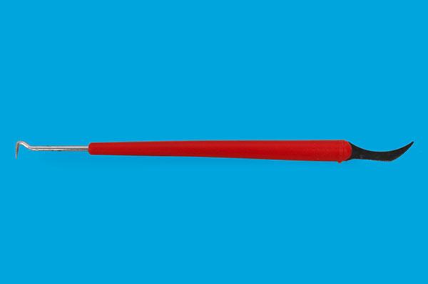 Omlarvninghake med cellkniv
