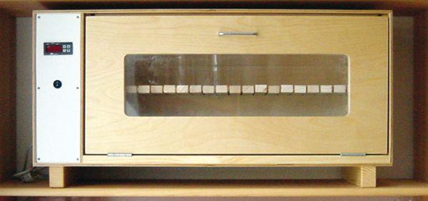 Kläckningsskåp för 150-180 celler