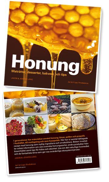 Boken Honung - Maträtter, desserter, bakverk och tips