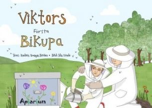 Viktors first beehive, childrens book