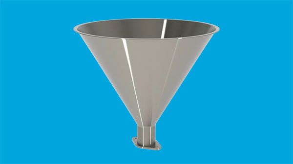 Filling funnel, 4,5 litres for 295-16