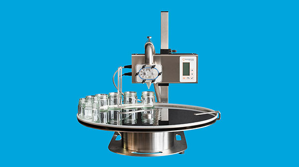 Complete tapping machine with tapping table, table model*