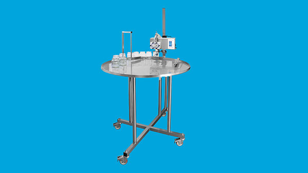 Complete tapping machine with rotating tapping table with legs*