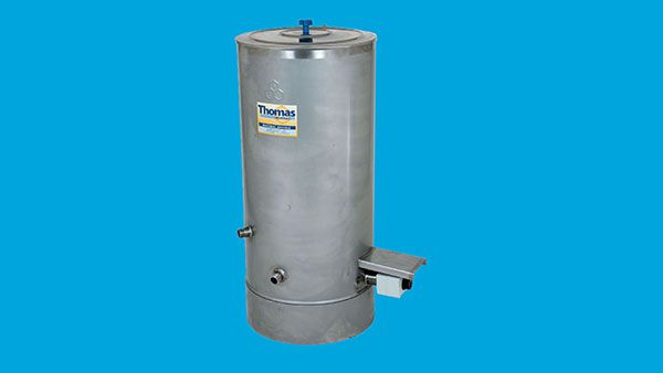 THOMAS Settling tank with oil filled water jacket 100 kg