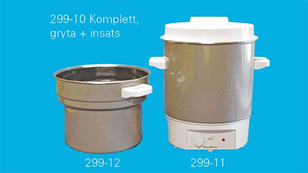 Thermostat controlled wax melter