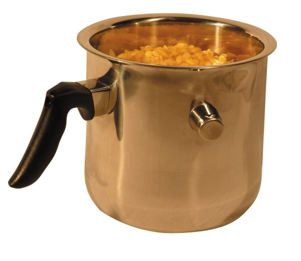 Stainless melting pot