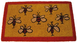 Dörrmatta Happy Bees