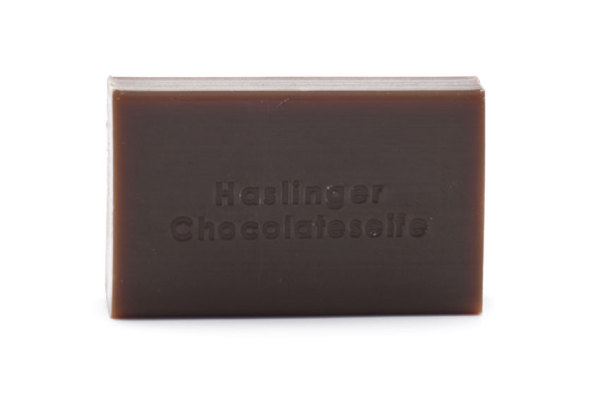 Chocolate soap with honey and cocoa butter