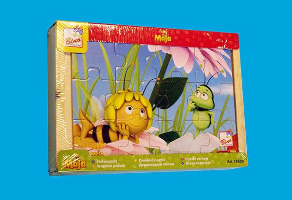 Maja, the bee puzzel