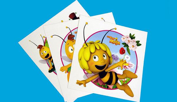 Maja, the bee stickers