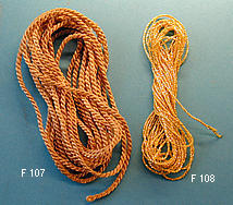 Gold string coarse, 3 m