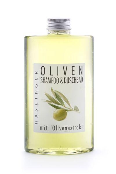 Oliv shampo och duschbad