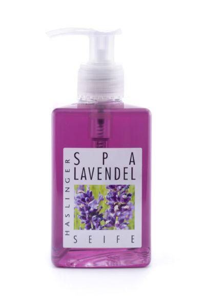 Lavendel flytande tvål Alessa pumpflaska Per st