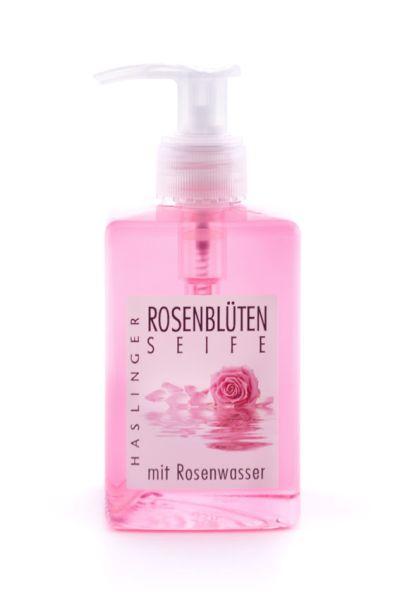 Flytande Rosenblomstvål, pumpflaska