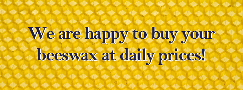 We buy your beeswax