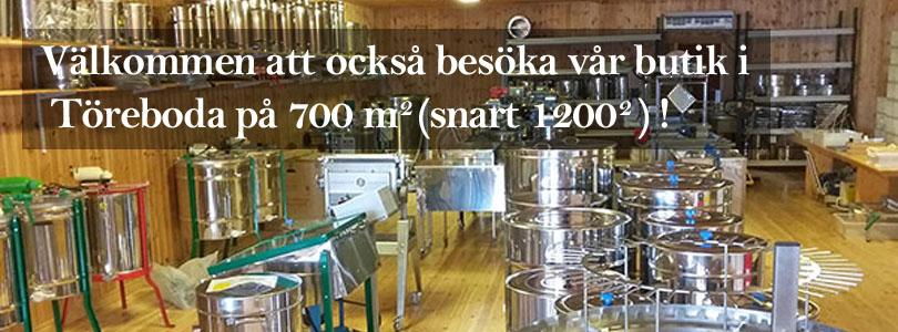 Välkommen att besöka vår butik!