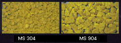 Dekoration sand yellow, coarse